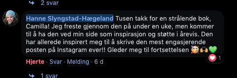 Hanne Slyngstad-Hægland